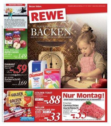 Nur Montag Rewe Beckum