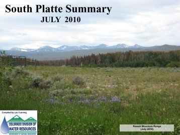 July - Colorado Division of Water Resources