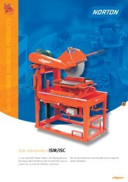 Scie industrielle ISM/ISC - Norton Construction Products