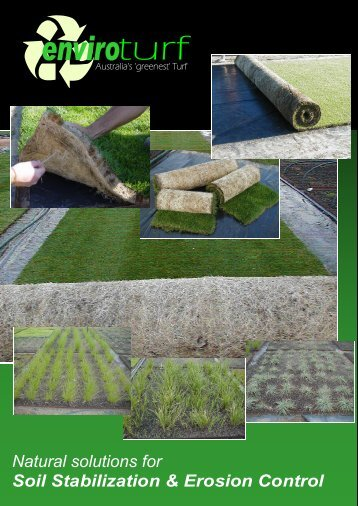 Natural solutions for Soil Stabilization & Erosion Control - odms.net.au