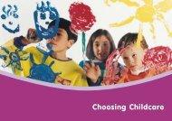 Choosing Childcare - Parents NI