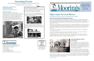 2006 Fall - Grosse Pointe Historical Society