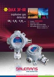 DAX 3F-IR - Dalemans Gas Detection