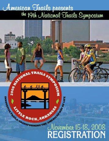 19th National Trails Symposium Schedule
