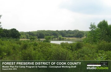 MASTER PLAN - Forest Preserve District of Cook County