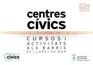 Cursos i tallers - Ajuntament de Lloret de Mar