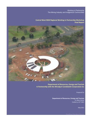 Working in Partnership Workshop - Condobolin - Department of ...
