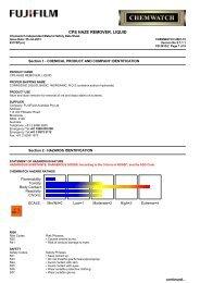 CPS Haze Remover, liquid - FUJIFILM Australia