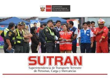 intervenciones 2011 - Sutran