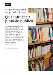 Que influência junto do público? - Clube de Jornalistas