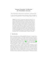Assume-Guarantee Verification for Probabilistic Systems