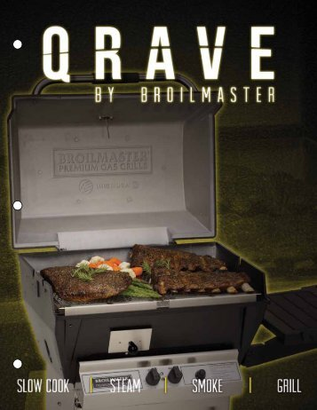 Qrave Brochure - Pittsburgh Gas Grill & Heater