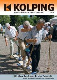 Mit den Senioren in die Zukunft - Kolping Schweiz