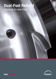 Dual-Fuel Retrofit Industrial Co-Gen Plant - MAN Diesel & Turbo ...