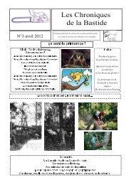 Les Chroniques de la Bastide - Le Centre Forestier de la région ...