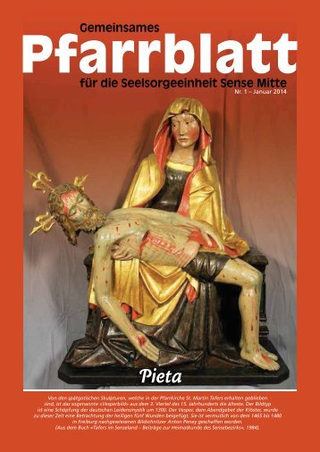 Pfarrblatt - Pfarrei Heitenried