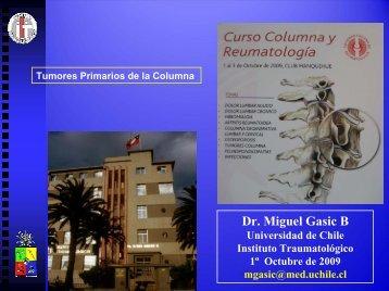 Tumores primarios columna