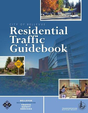 Residential Traffic Guidebook - City of Bellevue