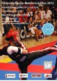 Österreichische Meisterschaften 2013 - ÖBFK