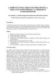 6. měření účinku frekvenčního měniče a opravných prostředků na ...