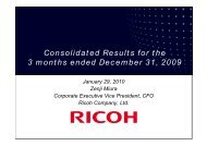 Presentation - Ricoh