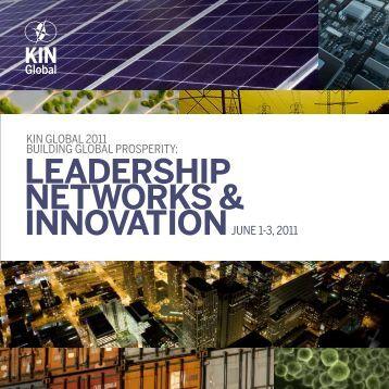 + KIN Global 2011 Guidebook - Kellogg Innovation Network