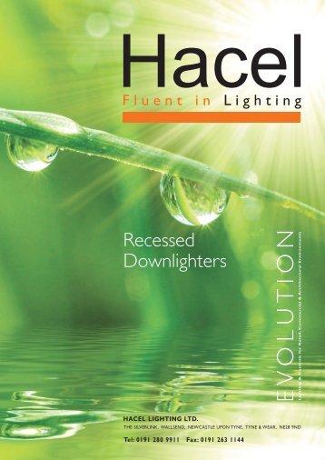 Recessed Downlighters - Hacel Lighting U. K.