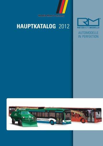 hauptkatalog - Rietze
