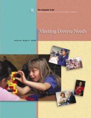 2000 Annual Report - The Colorado Trust