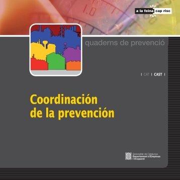 Coordinación de la prevención