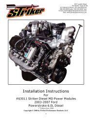 The ...Installation Instructions For #63011 Striker ... - Painless Wiring