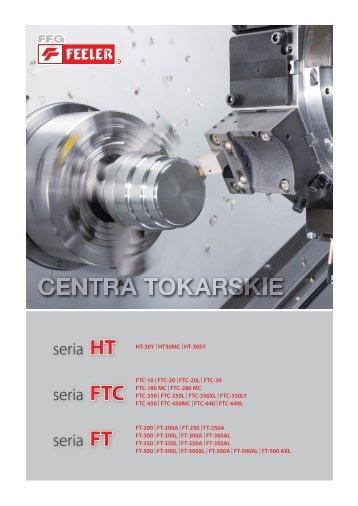 FTC-30 - Pionowe Centra Frezarskie CNC