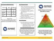 Tiered Decision Making Process: A Quick Guide for Teachers