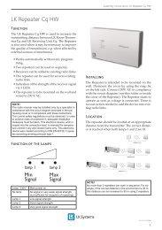 01_LK Golvvärme.indd - LK Systems AB
