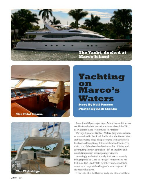 Yachting on Marco's Waters - Naples Daily News