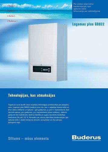 mūsu elements Logamax plus GB022 - Buderus