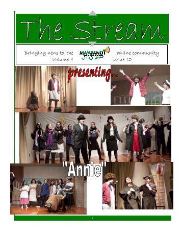 Issue 12.pub - Ma'ayanot Yeshiva High School for Girls