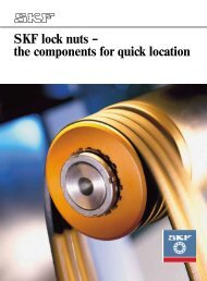 SKF lock nuts – the components for quick location