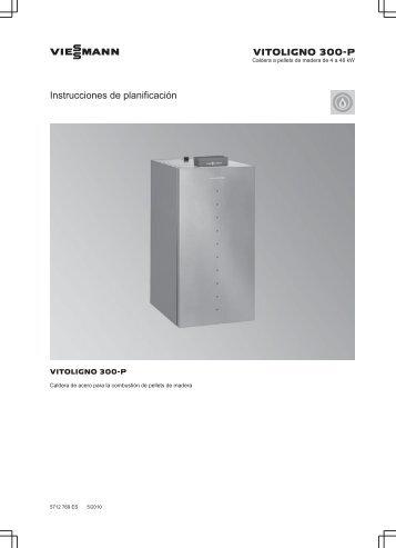 Instrucciones de Planificación Vitoligno 300-P2.1 MB - Viessmann