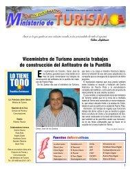 Boletín Informativo 23-3-2011 - Ministerio de Turismo