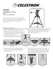 ASTROMASTER • TRIPOD #93610 INSTRUCTION ... - Celestron
