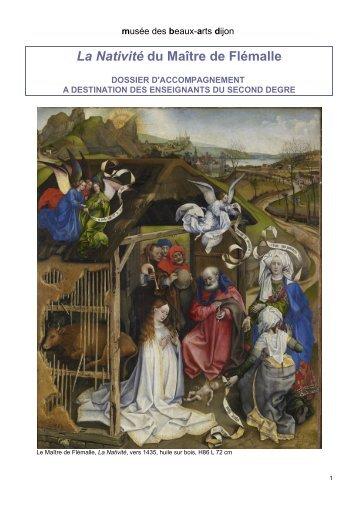 La Nativité du Maître de Flémalle - Musée des beaux-arts de Dijon