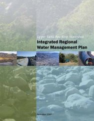 See the IRWMP - San Bernardino Valley Water Conservation District