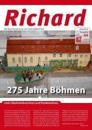 275 Jahre Böhmen - Quartiersmanagement Richardplatz Süd