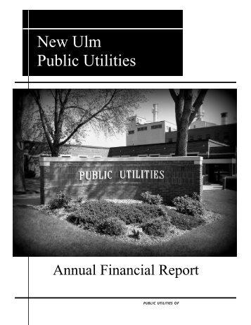New Ulm Public Utilities - City of New Ulm, Minnesota