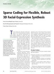 Sparse Coding for Flexible, Robust 3D Facial-Expression Synthesis