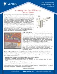 Increasing Your Duct Efficiency - Existing Homes