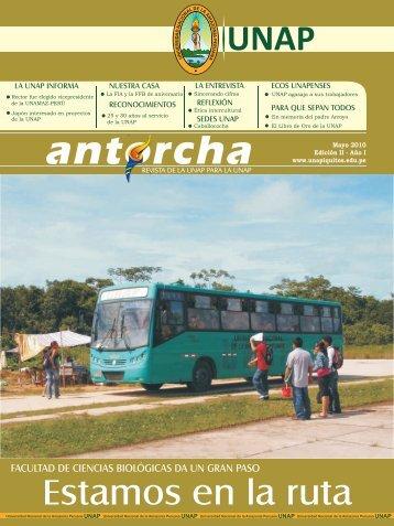 Revista Antorcha edición Nº 2 - Universidad Nacional de la ...