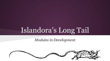 Islandora's Long Tail
