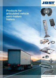Products for articulated vehicle semi-trailers trailers - JOST-World
